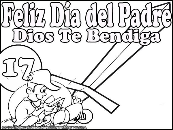 Feliz Dia Del Padre Dios Te Bendiga Dibujos Infantiles