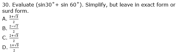 nda past questions on mathematics 2011