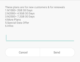 glo new data plans