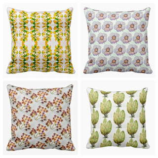 Interior design and homedecor pillows and accents, sold in zazzle.com/artmiabo by miabo enyadike