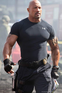 Action movie star Dwayne Johnson