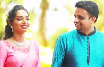 Pooja Prakash & Ravi Aravind Engagement Highlights