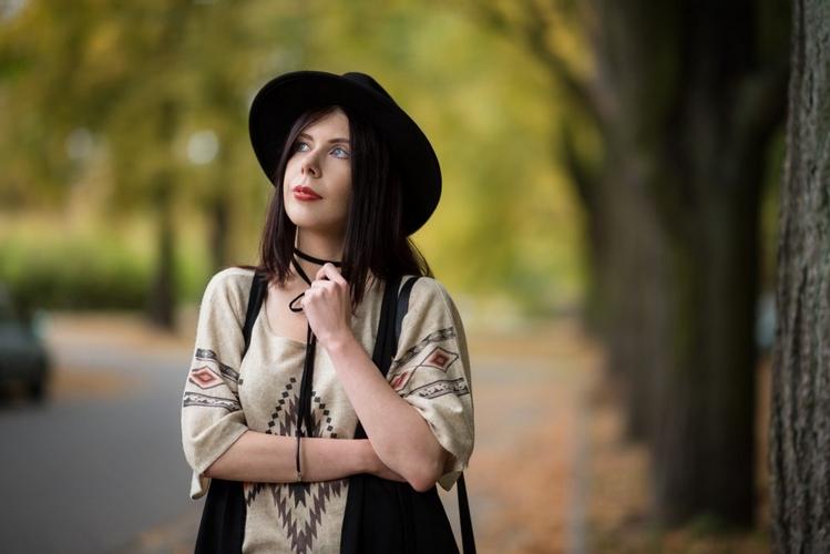 portret jesień
