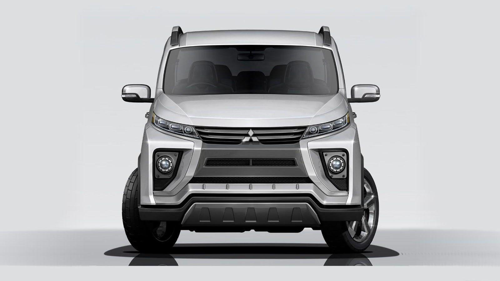 New Mitsubishi Delica Concept Leaks Before Tokyo Motor Show