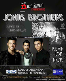 Jonas Brothers Concert in the Philippines 2012