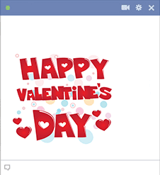 Happy Valentine's Day Sticker
