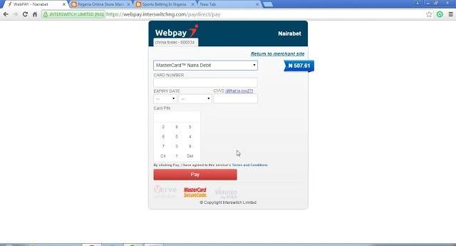 Nigeria online payment gateway