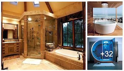 Diseños de duchas increíbles y muy modernas
