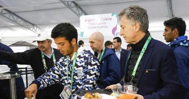 Mauricio Macri visitó la Villa Olímpica