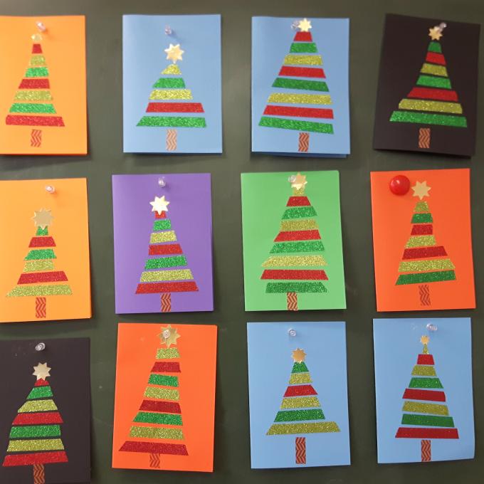 Das Verfuchste Klassenzimmer: Weihnachtskarte