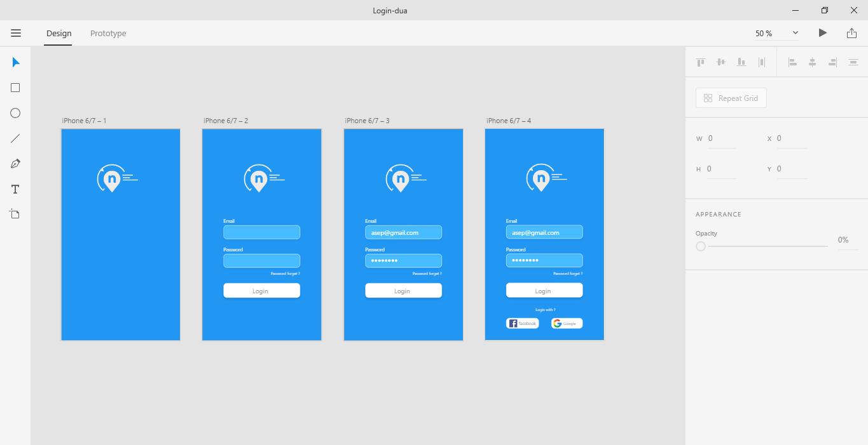 Adobe XD - Membuat Login Form Sederhana - Ekuiva