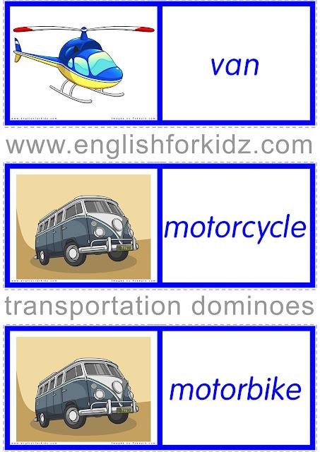 ESL transport dominoes