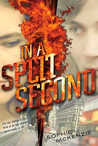 In a Split Second by Sophie McKenzie book review and cover