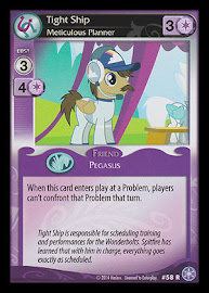 My Little Pony Tight Ship, Meticulous Planner The Crystal Games CCG Card