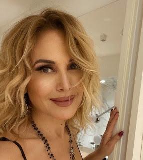 Barbara D'Urso filtro viso Instagram