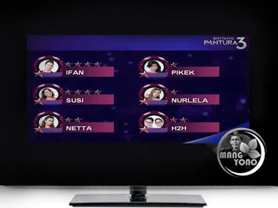 Bintang Pantura 3 babak 36 Besar, 1 Oktober 20