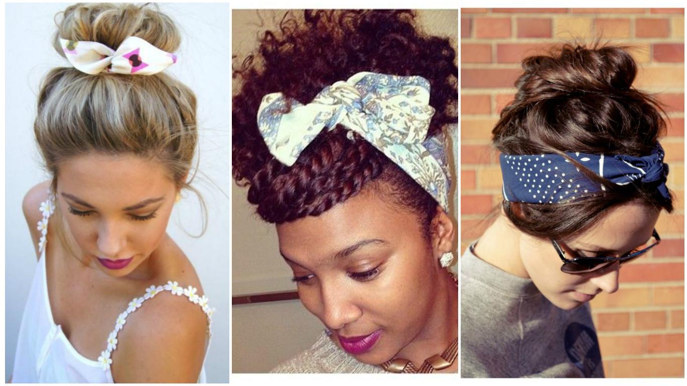 bandana, lenço, lenços para cabelo,penteados simples, penteados com lenços,moda acessorios, moda Padre bernardo, Goias Moda, moda goiana