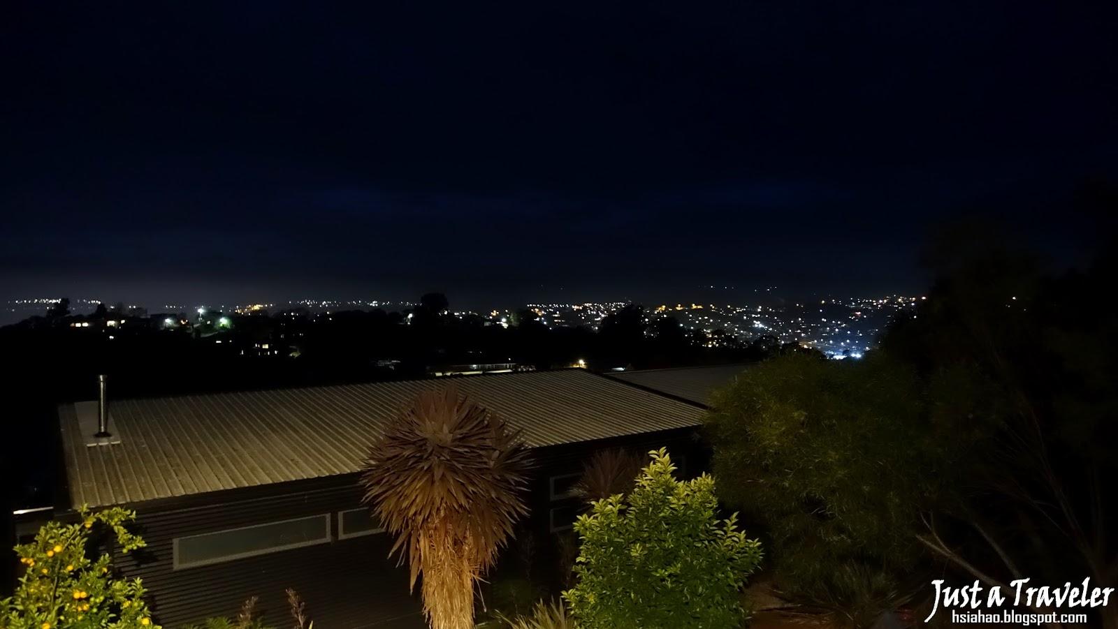 塔斯馬尼亞-朗賽斯頓-夜景-住宿-推薦-Airbnb-Tasmania-Launceston-Australia