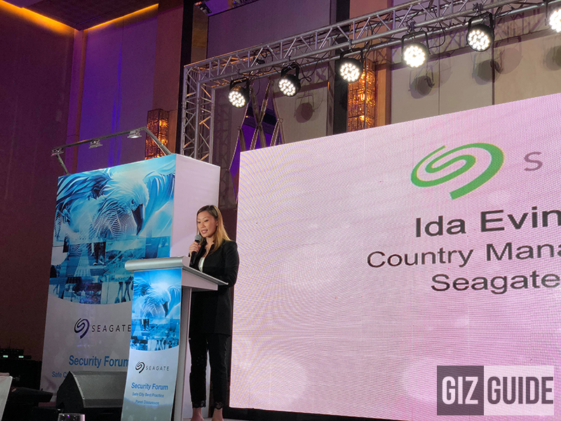 Ida Ong-Co, Country Head of Seagate Philippines