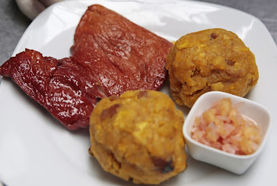 Tacacho con cecina, gastronomía peruana, tacacho con cecina Perú