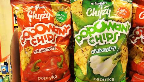 Chipsy kukurydziane, Chyży