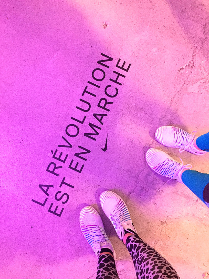 Elizabeth l Nike NRC NTC experience l Isport fitness training #betterforit l THEDEETSONE l http://thedeetsone.blogspot.fr