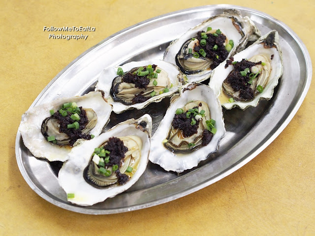 XO 酱蒸生蚝  Oyster Steamed With XO Sauce
