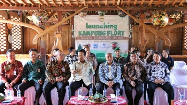 Bank Indonesia Wujudkan Smart City di Desa Wisata Kampung Flory