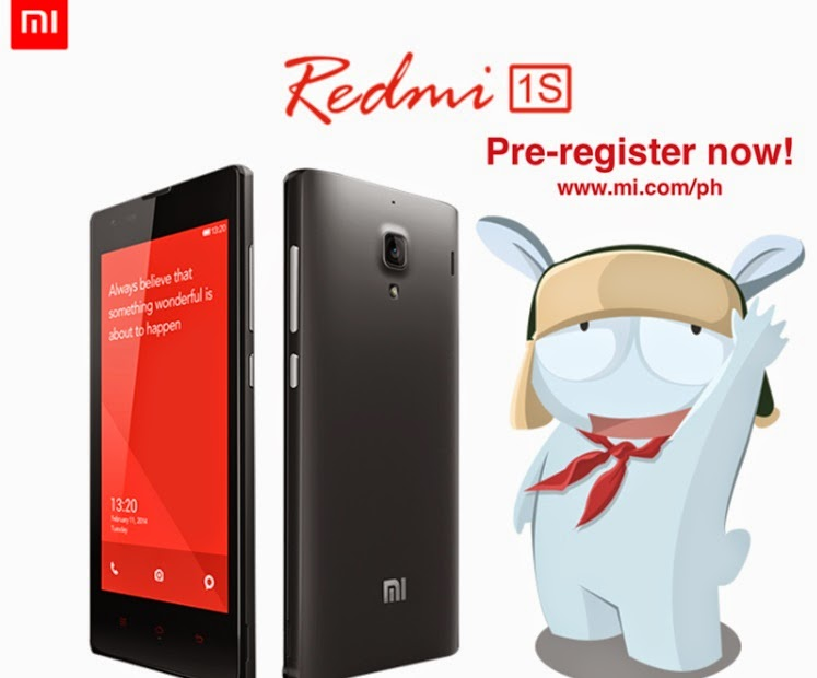 Xiaomi Redmi 1S Round 3 Pre-registration Is Up Until September 24