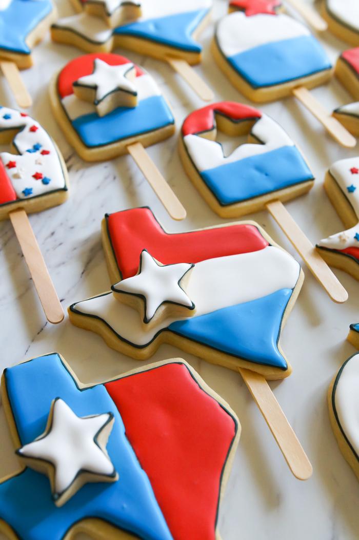 Bomb Pop Cookies ♥ bakeat350.net