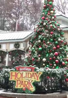 Six Flags Cancels Snow Ball Fight, Too Much Real Snow on Ground.