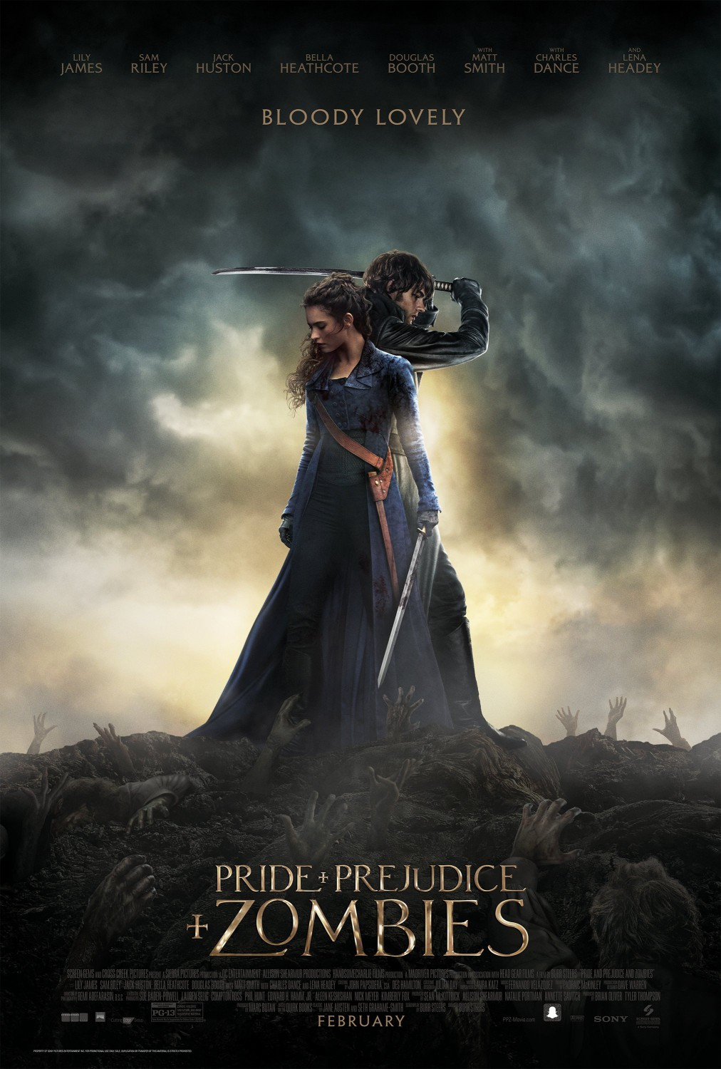 Nonton Film Pride and Prejudice and Zombies (2016)