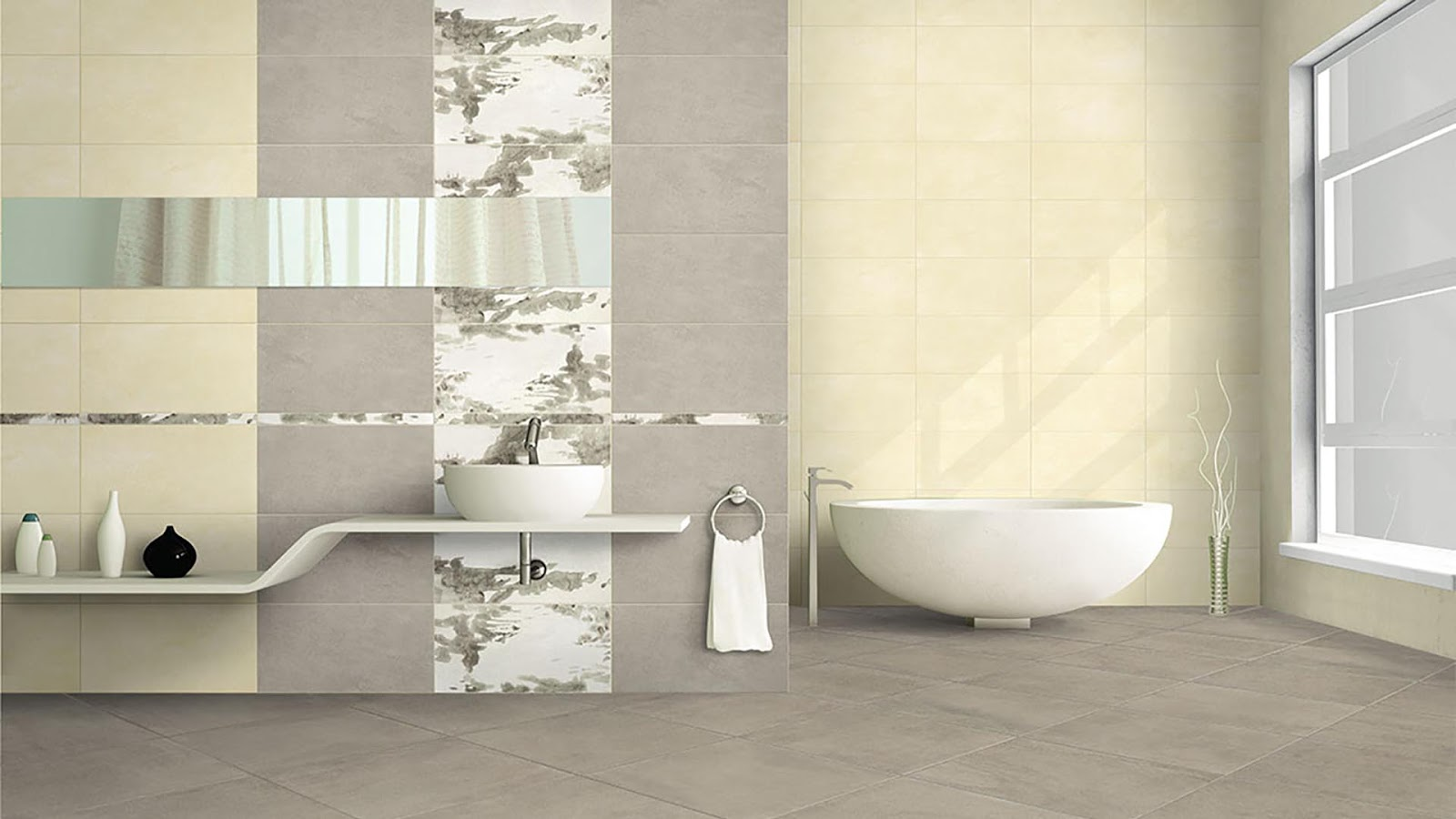 Toilet wall tiles design with Arpa Ceramiche | Floor & Wall Tiles ...