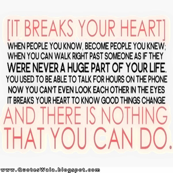 Quotes About Heartbreak: Daily Quotes At QuotesWala