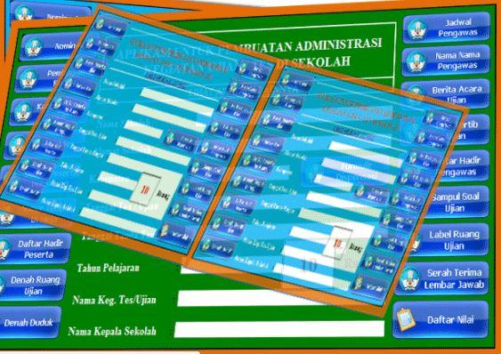 Download Update 2017 Aplikasi Administrasi Ujian Versi Baru