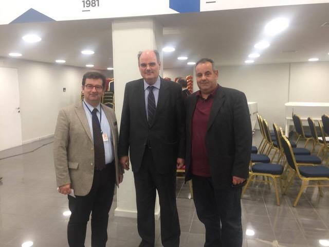 Ο Γιάννης Μαλτέζος και Σπύρος Στείρης ορίσθηκαν μέλη στον Τομέα Οικονομικών της Νέας Δημοκρατίας