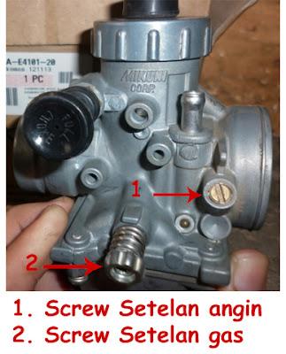 cara-setting-karburator-motor-2tak