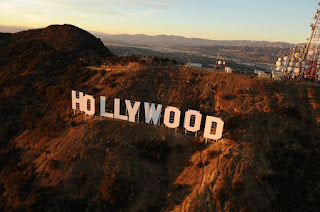 hollywood sign  L.A.