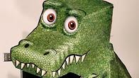 Оптична ілюзія: Дивовижні динозаврики і дракончики. Як зробити?