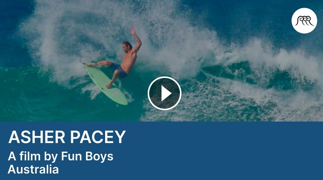 Asher Pacey Surfing Alternative