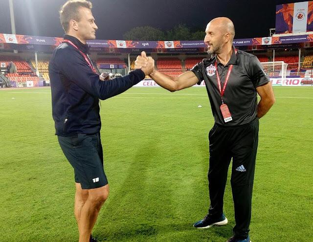 fc pune city head coach isl-2017-18