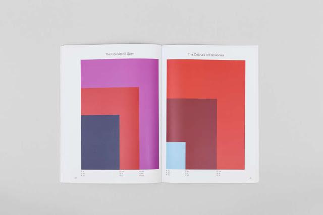 dünyanın favori renk projesi'nden bir sayfa.