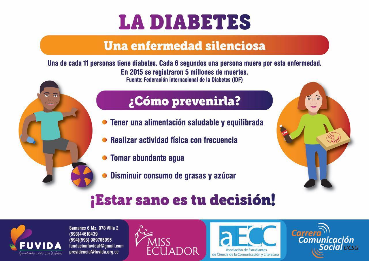 Kelly intriago nos cuenta acerca de la campa a contra la diabetes - Alimentos contra diabetes ...