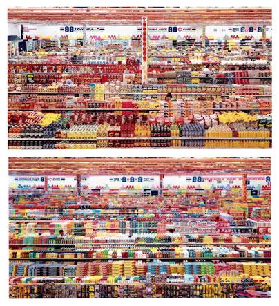 Foto Andreas Gursky 99 Cent II Diptychon foto paling mahal di dunia