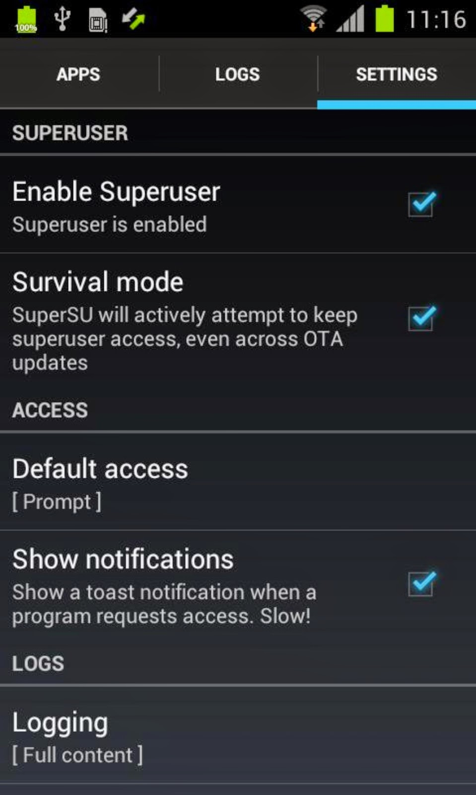 SuperSU Pro Key APK