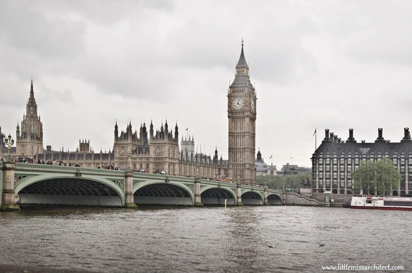 Londyn, Big Ben, Tamiza