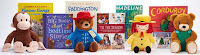 Curious George, Paddington, Madeline, Cordoroy, plush, Kohls Cares, holiday books