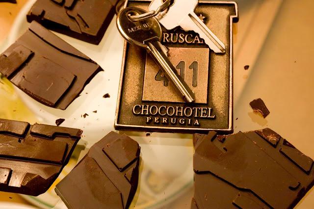 Шоколадный отель в Италии