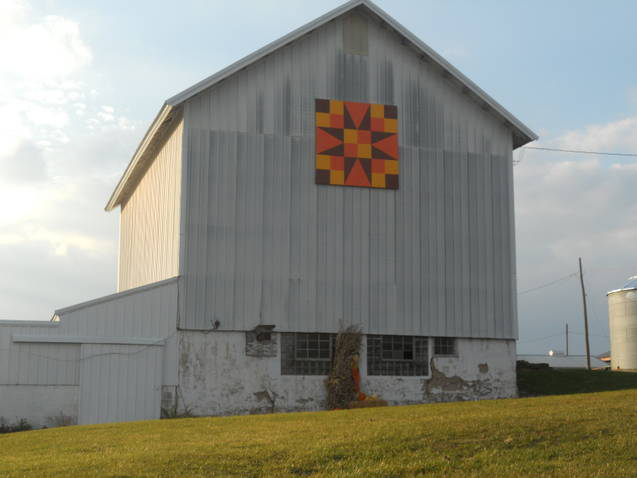 Barn Quilts And The American Quilt Trail 54 40 Or Fight