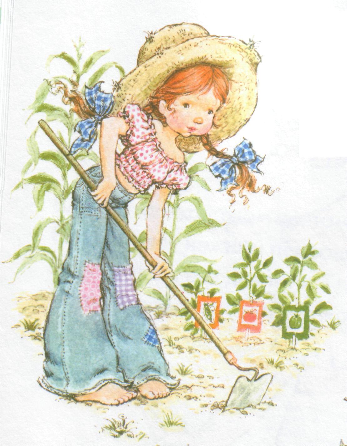 Desenho de Sarah Kay - Na Roça